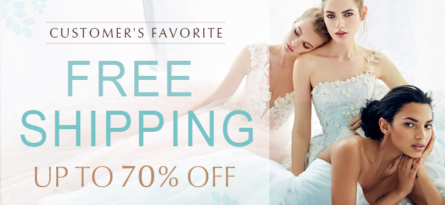 Free Shipping Bridal And Formal Dresses